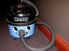 Secam has now met Henry-the-Vac